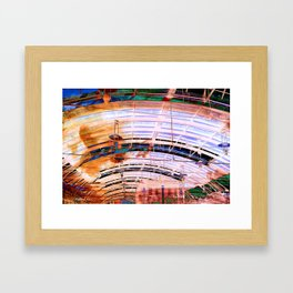 Platform 4 Framed Art Print