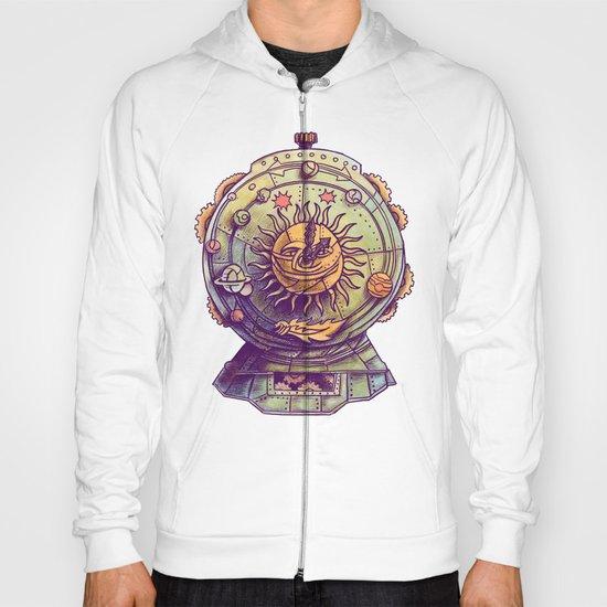 Cosmic Clock Hoody