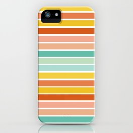 Over Striped iPhone Case