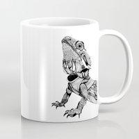 dragon Mugs featuring Dragon by eva vasari