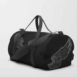 Black Angel Wings Duffle Bag