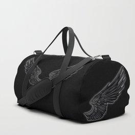 Black Angel Wings Duffle Bag