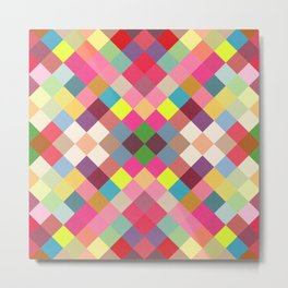 beautiful cute geometric design Metal Print
