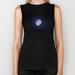 Meteorological Flight Biker Tank