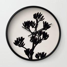 Black tree Wall Clock