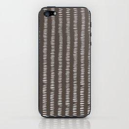 latte dashes iPhone Skin
