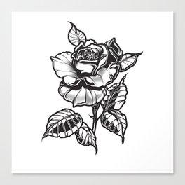Rubino Metal Rose One World Float Canvas Print