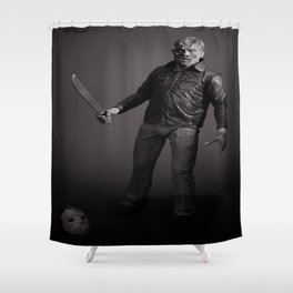 """Friday The 13th"" Shower Curtain"