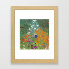 Cottage Garden Framed Art Print