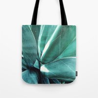 cactus Tote Bags featuring Cactus by Alexandra Str