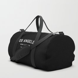 Los Angeles - CA, USA (Black Arc) Duffle Bag