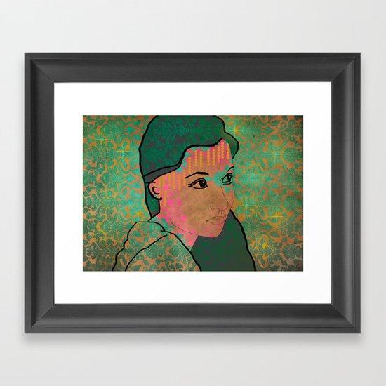 148 Framed Art Print