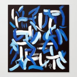 Synesthesia Art (BACH) Canvas Print