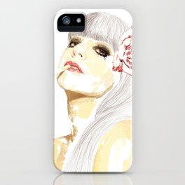 Out-Portrait iPhone Case