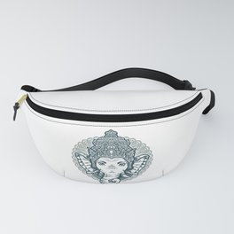 Queen Elephant Fanny Pack