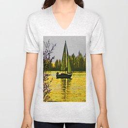 Delta sailing Unisex V-Neck