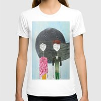 sandra dieckmann T-shirts featuring Sandra & Amir by Edward M.