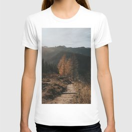 Autumn Hike - Landscape and Nature Photography T-shirt