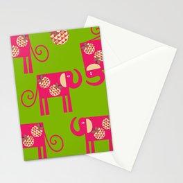 Elephants 2 Stationery Cards