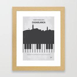 No192 My Casablanca mmp Framed Art Print