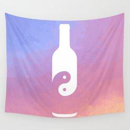 Taoist Wine Pastel Wall Tapestry