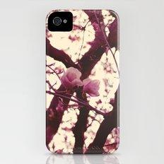 pink magnolias Slim Case iPhone (4, 4s)