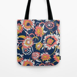 Bold Chinoiserie Floral - Limited Color Palette 2019 Tote Bag