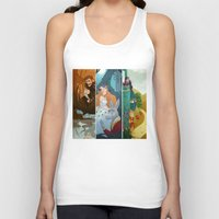 shakespeare Tank Tops featuring Shakespeare by Supergna