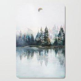 Winter Morning Cutting Board