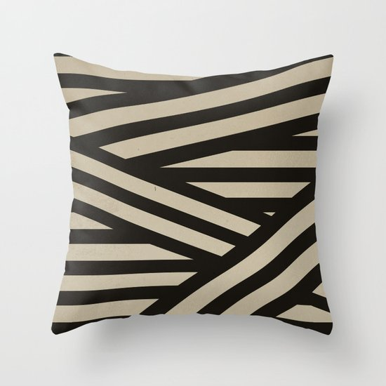 Bandage Throw Pillow
