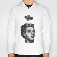 matty healy Hoodies featuring Matty's City by Kylie Ratto