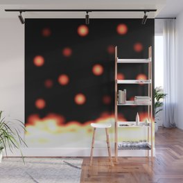 Fire and Embers Wall Mural