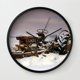 Fergie Yellow Belly Wall Clock