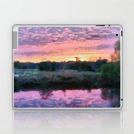 Monet Inspired Sunrise Laptop & iPad Skin