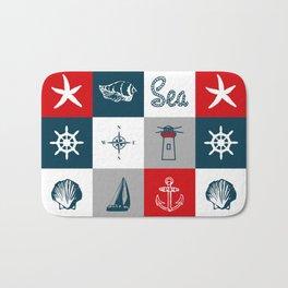Nautical design 4 Bath Mat