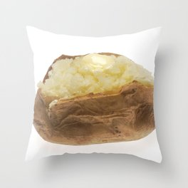 Baked Potato Throw Pillow