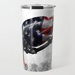 Chameleon, Central Park, NY Travel Mug
