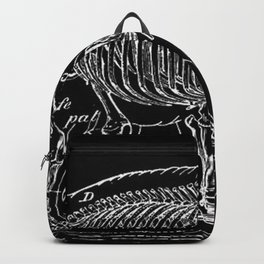 Elephant Skeleton | Zoo Animals Backpack