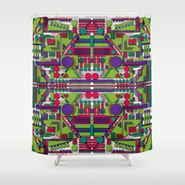 H1 Shower Curtain
