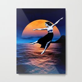 Shadow Dancer - setting Metal Print