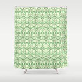 Tribal Geometric Pattern Shower Curtain