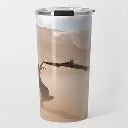 desert dust storm Travel Mug