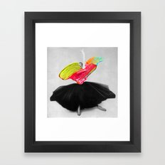 Stroked Framed Art Print