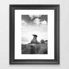 Le roi Hoodoo Framed Art Print