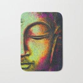 Buddha portrait Bath Mat