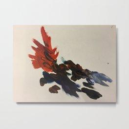 Abstract color Metal Print