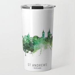 St Andrews Scotland Skyline Travel Mug