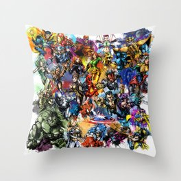 Marvel MashUP Throw Pillow