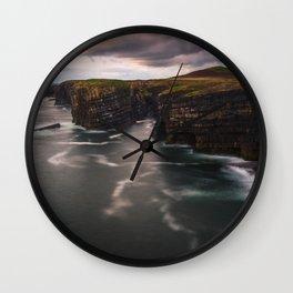 RR(290) Art print from Loop Head - Ireland Wall Clock