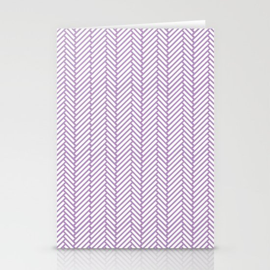Herringbone Orchid Stationery Cards